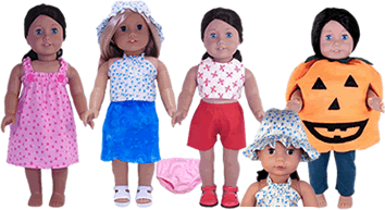 How to Make Doll Clothes Video Course and 8 Free American Girl Doll Clothes Patterns