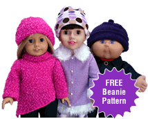 Free Beanie Doll Clothes Pattern