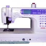 Sewing Machine with Pin Cushion Pattern
