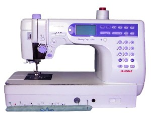 Sewing Machine with Pin Cushion Pattern