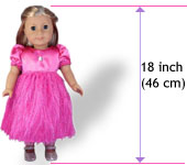18 Inch American Girl Doll Clothes Patterns Size