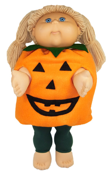 cabbage patch pumpkin and tights rosies doll clothes
