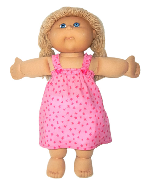 Cabbage Patch Kids Summer Nightie Doll Clothes Patterns