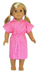18 Inch American Girl Summer Dressing Gown Doll Clothes Patterns