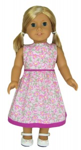 18 Inch American Girl Summer Dress Doll Clothes Pattern
