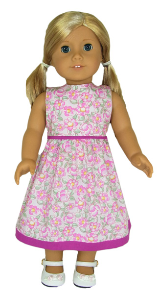 American Girl Summer Dress | Rosies Doll Clothes Patterns