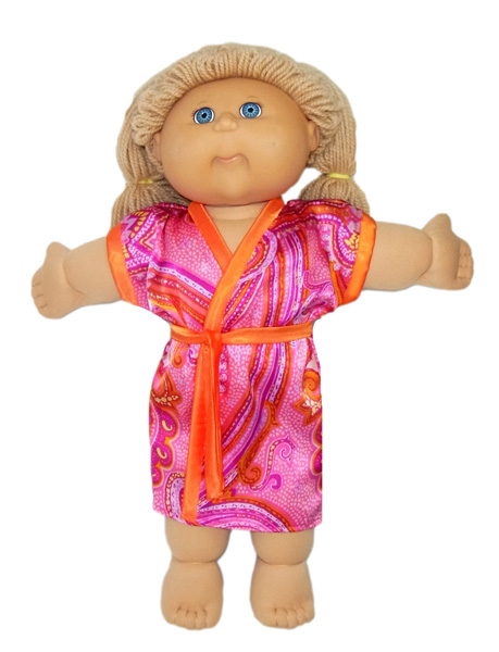 Cabbage Patch Kids Summer Dressing Gown Doll Clothes Pattern