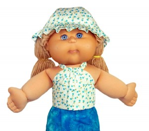 18 1/2 Inch Cabbage Patch Kids Hat Doll Clothes Patterns