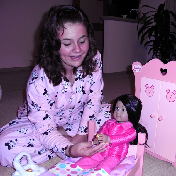 Rosies Doll Clothes Easter American Girl Doll Waking Up