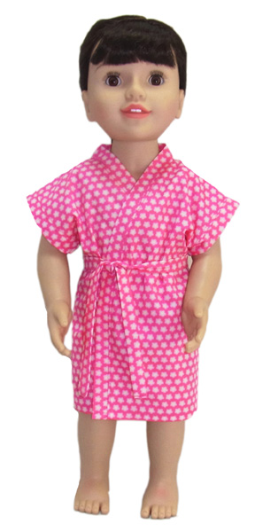 18 Inch Australian Girl Summer Dressing Gown Doll Clothes Patterns