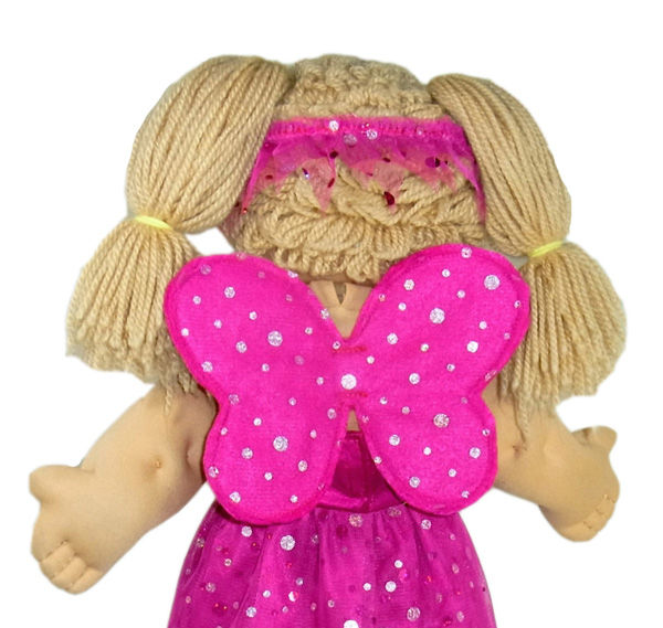 18 1/2 Inch Cabbage Patch Kids Doll Clothes Patterns Fairy Wings