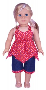 18 Inch American Girl Doll Clothes Patterns Capri Pants