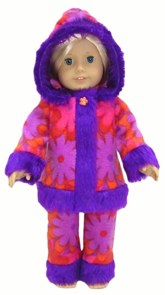 18 Inch American Girl Doll Clothes Patterns Funky Fur