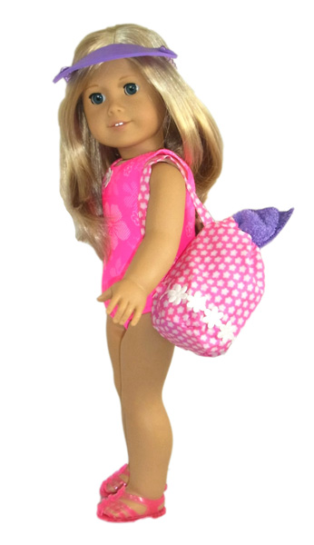 18 Inch American Girl Doll Clothes Patterns Beach Bag
