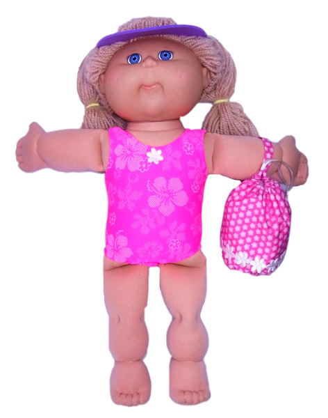 Cabbage Patch Kids Doll Clothes Patterns Beach Bag