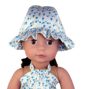 18 Inch American Girl doll hat pattern | Rosies Doll Clothes Patterns