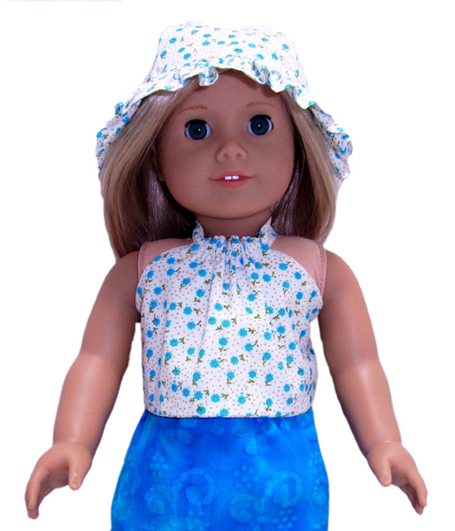 18 Inch American Girl Doll Clothes Patterns Halter Top