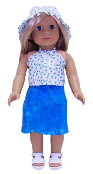 18 Inch American Girl Doll Clothes Patterns Sarong