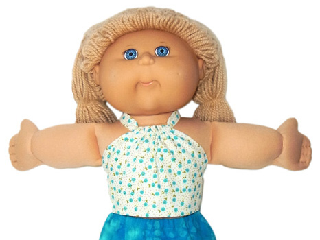 Cabbage Patch Kids Doll Clothes Patterns Halter Top