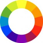 Color wheel for making doll clothes