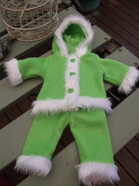 Funky Fur Snow Suit