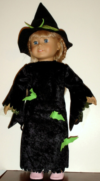 American Girl Doll Clothes Patterns Witch by Karen