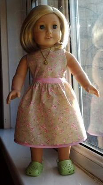 Katy American Girl Doll Clothes Patterns Summer Dress