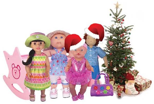 Rosies Doll Clothes Patterns Christmas Gifts