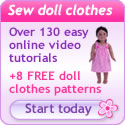 Rosies Doll Clothes Patterns banner 125x125