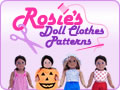 Rosies Doll Clothes Patterns banner version one 120x90