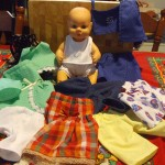 All the Doll Clothes Patterns Cherylmaree made for her granddaughter