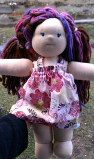 Doll clothes patterns Summer Nightie by Kris