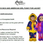 18 Inch American Girl Doll Clothes Patterns Intructions