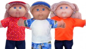 Cabbage Patch Kids Doll Clothes Patterns Tshirt  3