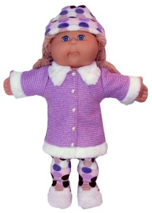 Cabbage Patch Kids Doll Clothes Patterns Fur Trimmed Jacket