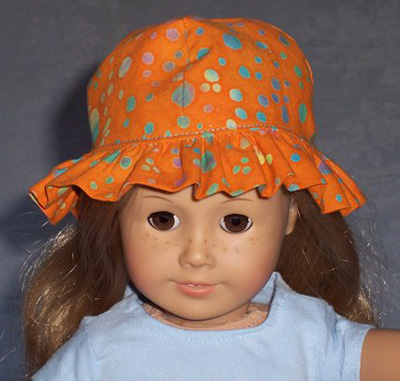 American Girl Doll Clothes Patterns Hat Judy