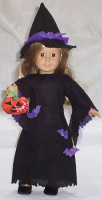 American Girl Doll Clothes Patterns Witch Judy