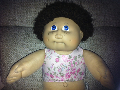 Cabbage Patch Doll Clothes Patterns CropTop by Sharon