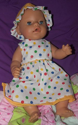Doll Clothes Patterns Summer Dress Noela