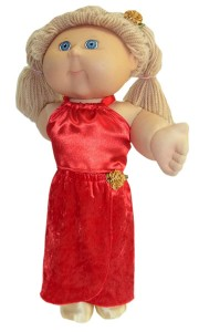 Cabbage Patch Kids Doll Clothes Patterns Long Sarong