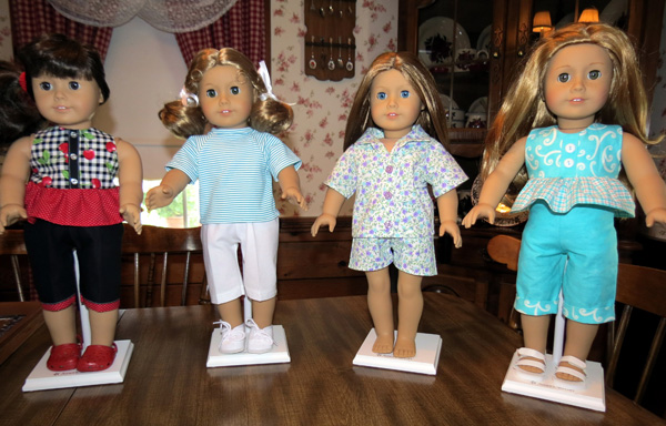 Ann's collection of American Girl doll clothes patterns