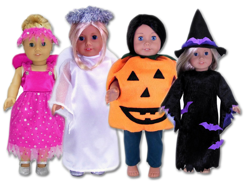 18 Inch American Girl Halloween Doll Clothes Patterns