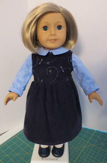 Ann's American Girl summer dress doll clothes pattern