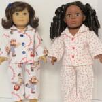 Ann's American Girl Winter PJs doll clothes