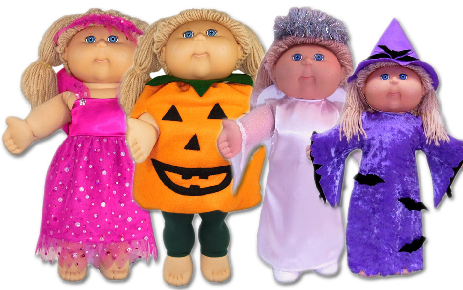 Cabbage Patch Kids Halloween Doll Clothes Patterns