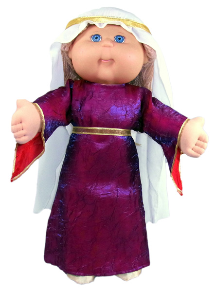 Cabbage Patch Kids Medievil Costume Doll Clothes Patterns