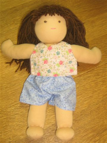 Andrea Crop Top and Shorts Doll clothes Patterns