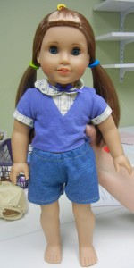 Dakota American Girl Doll in her Shorts