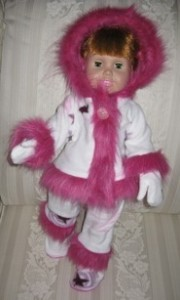 Peggy Funky Fur Doll Clothes Patterns Pink