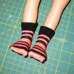9.socks on the doll